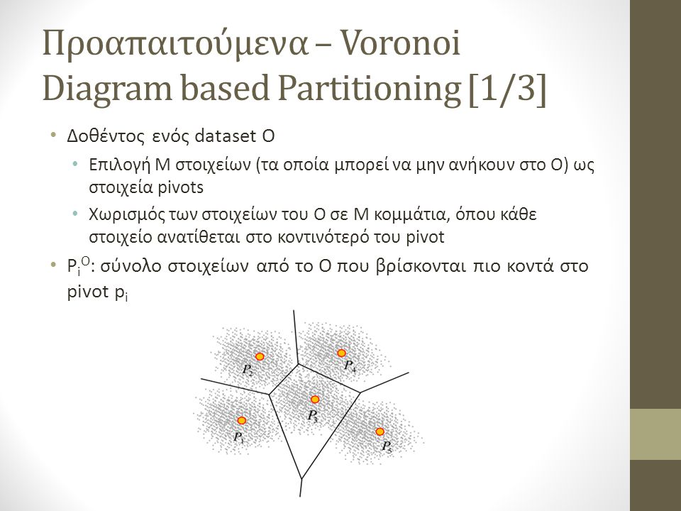 Προαπαιτούμενα – Voronoi Diagram based Partitioning [1/3]
